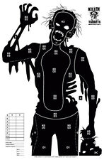 12 Zombie Paper Shooting Range Targets 23 x 35 inches