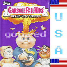 2013 USA Garbage Pail Kids Brand New Series 3 COMPLETE Set BNS 3 132 Card Set