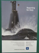 4/11 PUB HDW KIEL CLASS 214 SUBMARINE U-BOOT FUEL CELL PROPULSION SOUS-MARIN AD