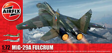 Airfix MiG-29A Fulcrum 1:72 Scale Plastic Model A04037