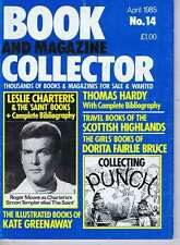 LESLIE CHARTERS / THOMAS HARDY / KATE GREENAWAY Book Collector no. 14 Apr 1985
