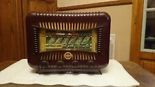 Beautifull french tube radio Ducret Thomson 1947