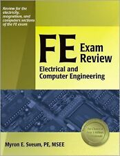 FE Exam Review: Electrical and Computer Engineering by Sveum PE, Myron  E., Good