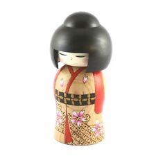 Japanese Creative Kokeshi  doll Cherry blossoms Banquet By Yuji Kawase