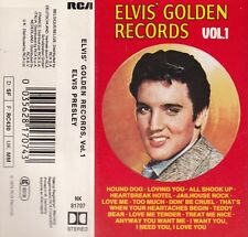 "K7 AUDIO (TAPE) ELVIS PRESLEY  ""ELVIS' GOLDEN RECORDS / VOL 1"" (MADE IN GERMANY)"
