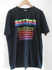 THE SAW DOCTORS 2008 RHYTHM FESTIVAL T SHIRT SIZE XL