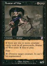 Avatar of Woe-signed v1 | ex | time Spiral | Magic mtg