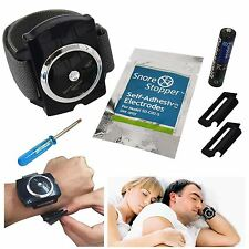 Stop Snoring Aid Snore Stopper Bracelet Wristband Device Intelligent Infrared
