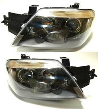MITSUBISHI Outlander 2003-2006 front head lamps lights LEFT+ RIGHT ONE SET BLACK