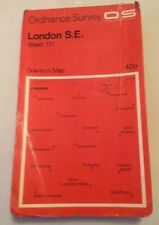 1970 Ordnance Survey One Inch Map Of London S.E South East - Sheet 171