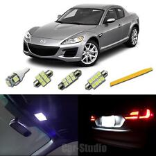 2004-2011 Mazda RX-8 White 5050-SMD LED Interior Lights Package w/Tool