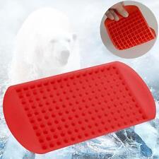 Rosso 160 Cubetti Di Ghiaccio Frozen Mini Cubo Silicone Vassoio Per Il Ghiaccio