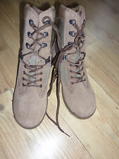 YDS FALCON MENS DESERT PATROL BOOTS SIZE: 9M AVERAGE WIDTH BRITISH ARMY ISSUE