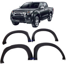 "Fit Isuzu D-MAX Colorado DMAX Fender Flare 6"" Wheel Arch Off-road Matte Black 4d"