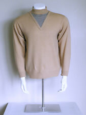 vtg 60s Atomic psychobilly mod High Rockabilly 3tone Spaceage lambs wool sweater