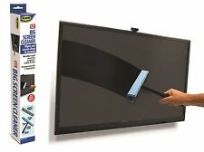 """Big Screen Cleaner  12"""" Flat Microfiber Wipes Clean Dust Safe Computer Tablets"""