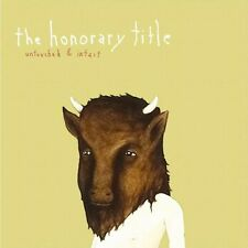 THE HONORARY TITLE : UNTOUCHED & INTACT (CD) sealed