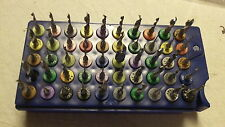 50 pcs. Mix lot, Carbide Drill Bits, Dremel / Jewelry / Tools, USED