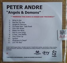 Peter Andre - Angels and Demons Promo Album (CD 2012) Collectable CD