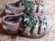 Youth Keen Sandals Size 1 Multi Color.  KED