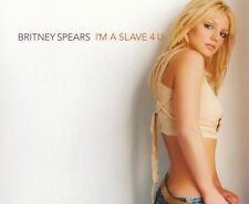 Britney Spears I'm A Slave 4 U CD Single Rare 2001 Main Version From Britney