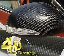 4D gloss black1520mm (59,8 dans) x300mm (11.8 in) en fibre de Carbone Vinyle Wrap Feuille Autocollant