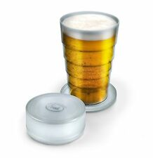 Fred Port A Pint Folding Beer Glass Collapsible Cup Travel Picnic Gift PORTA