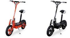 Elektroroller Scooter eFlux City Vision 1000 Watt E-Scooter (schwarz, orange)