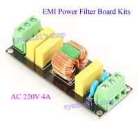EMI 4A Power Filter Board Socket DIY Kits For Pre-Amp Amplifier DAC Headphone