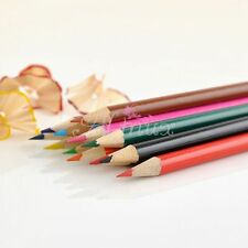 Pack of 12 x Colors Wooden Pencils Drawing Sketching Gift For Kids Student Set