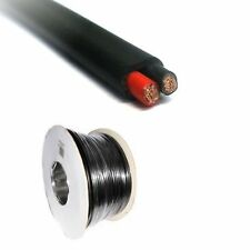 2 Core Cable - 2 x 0.5mm Flat Twin - 30m Roll - Automotive & Marine 12V / 24V