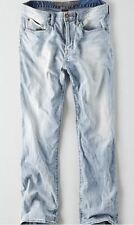 American Eagle Men's Relaxed Straight Core Flex Jeans - Light Wash - 33x34 - NWT