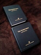 """""""The Scriptures Pocket Edition(2 leather softcover Bibles)"""" by ISR-Both New-"""