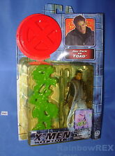 X-MEN The Movie Ray Park as TOAD w/ Slime Trap ToyBiz 2000 Toned Bubble Fig #2