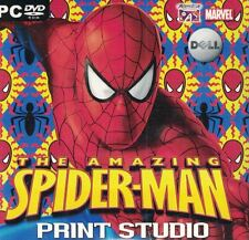 The Amazing Spider-Man Print Studio PC DVD-ROM Software Dell Sealed New