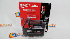 New Milwaukee 48-11-1850 M18 Red Lithium XC 18V Li-Ion Battery 5.0 Ah - NIB