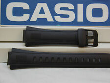 Casio Watch Band CPW-500 Rubber Black Strap for Prayer Compass 5 Alarm Watch