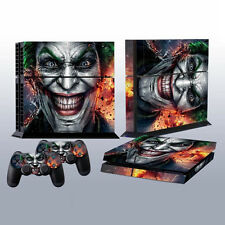 Joker Vinly Skin Sticker for Sony PS4 PlayStation 4 and 2 Controller F7