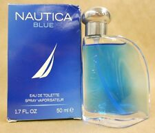 Nautica Blue Eau De Toilette Spray For Men 1.7 Fl Oz 50 Ml Brand New In Box