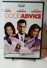 Good Advice (DVD, 2002) Free Shipping - Charlie Sheen
