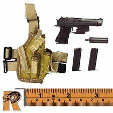 Universal Soldier Andrew - Desert Eagle Pistol Set #2 - 1/6 Scale Damtoys