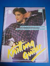 Knitting Guide 31 Knitting Technique Book