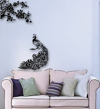 Wall Stickers Vinyl Decal Peacock Bird Beautiful Home Decor (ig688)