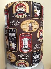 COFFEE HOUSE BREWED CAFE 5 GALLON WATER COOLER BOTTLE COVER KITCHEN DECORATION