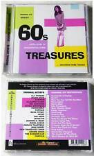 60´s Treasures ORIGINALE-Heinz, The Herd, Mike Berry, casinò, Turtles,... CD