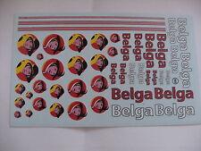 decals decalcomanie divers nouveau dessin belga 1/43 au 1/18