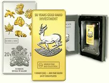 World Coin Bar 2011 Springbock Malawi 50 Kwacha Silber WCB Collection