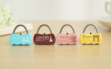 3 Digit Combination Security Safe Travel Luggage Code Lock Padlock High Quality