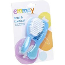 Emmay Care Health Baby Kids Hair Brush and Comb Grooming Set Trendy #8085
