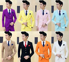 New Men's Premium Slim Fit Wedding Dinner Prom Jacket Waistcoat Pants Suit Set